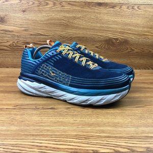 Hoka One One Bondi 6 Navy Blue Running Sneakers